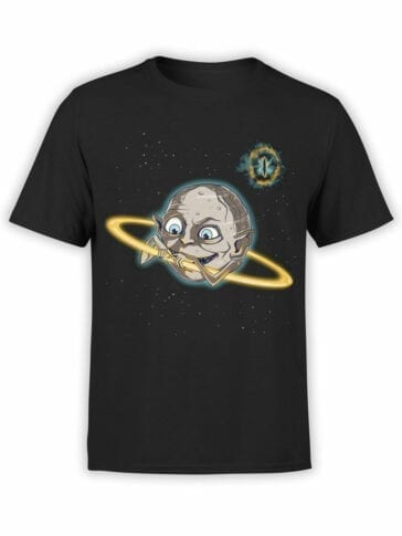 0621 Lord of the Rings Shirt Gollum Saturn