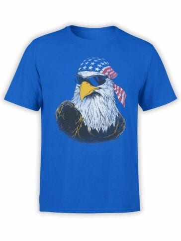 0652 Patriotic Shirts American Eagle Front