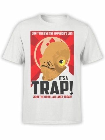 0665 Star Wars T Shirt Trap Front