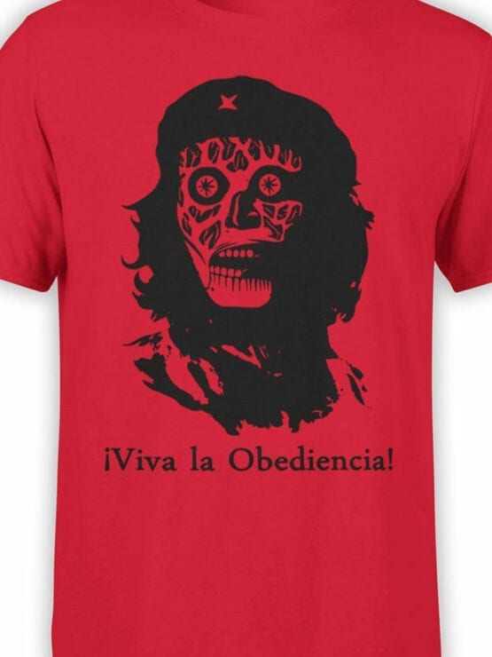 0670 Cool T Shirts Obediencia Front Color