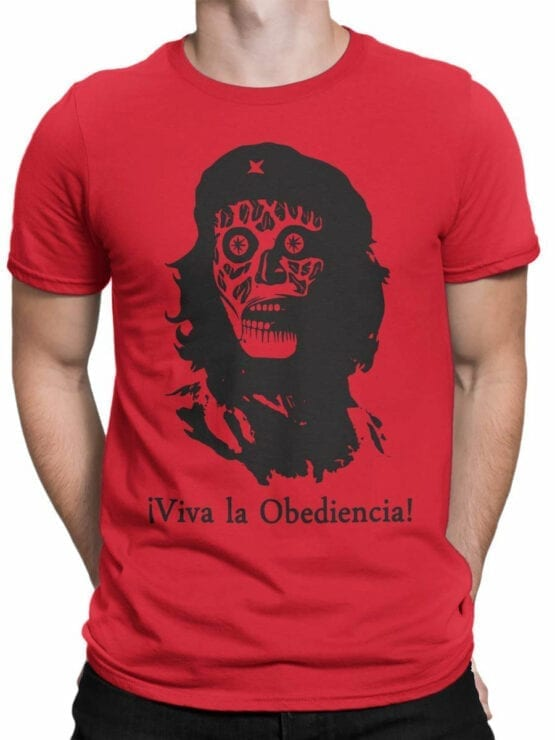 0670 Cool T Shirts Obediencia Front Man