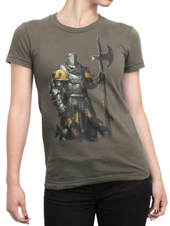 0681 Knight Shirt Defender Front Woman
