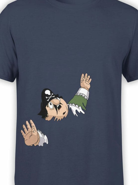 0700 Pirate Shirt Captain Pugwash Front Color