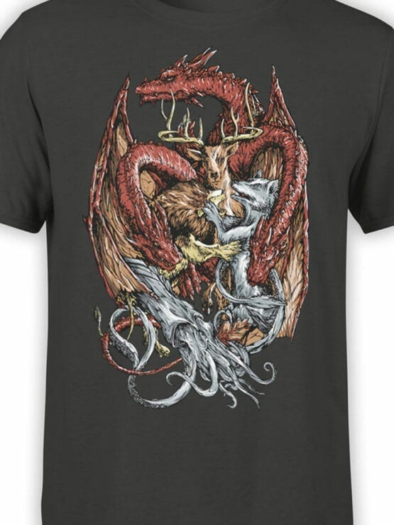 0708 Dragon Shirt Win or Die Front Color