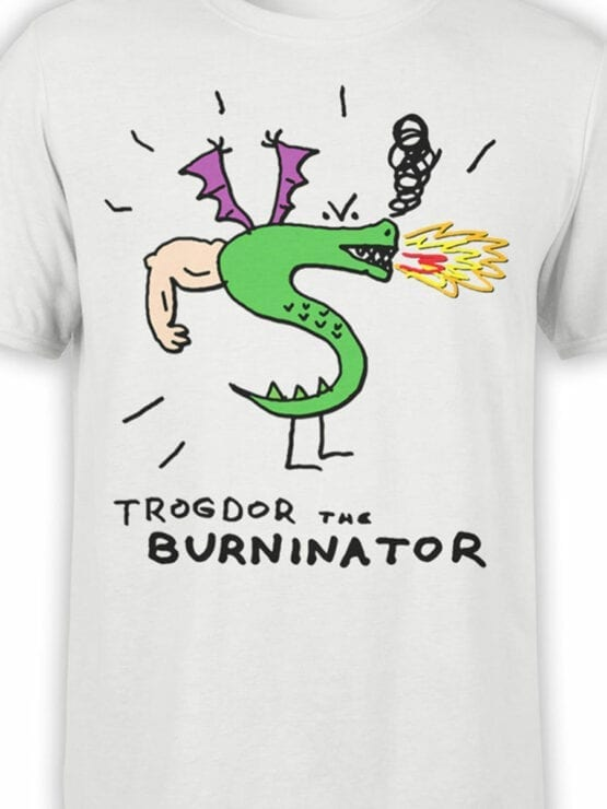 0726 Dragon Shirt Burninator Front Color