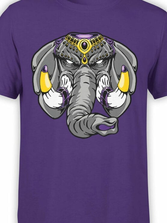 0729 Elephant Shirt Anger Front Color