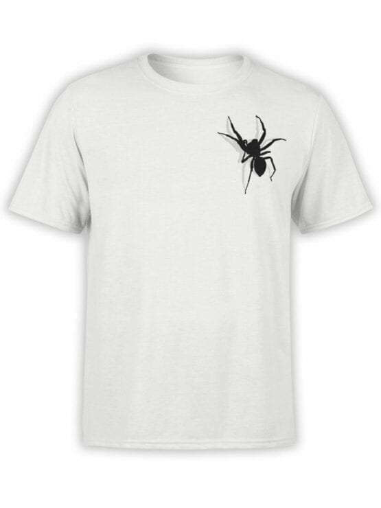0736 Creative Shirts Spider Front