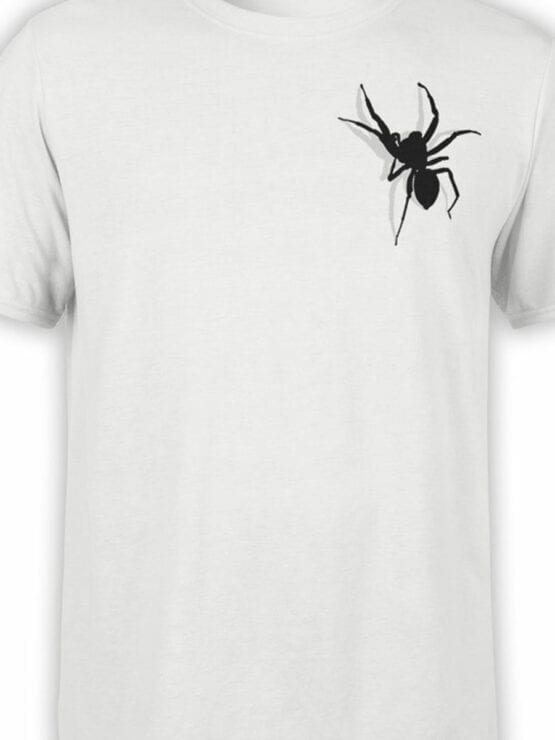 0736 Creative Shirts Spider Front Color
