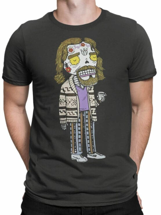 0829 Big Lebowski T Shirt Dead Dude Front Man