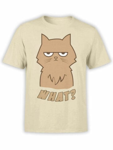 0830 Cat Shirts What Front