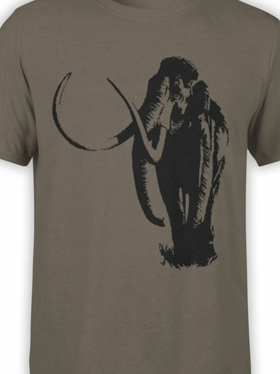 0833 Elephant Shirt Mammoth Front Color