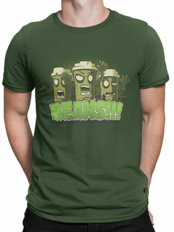 0857 Coffee Shirts Beans Front Man