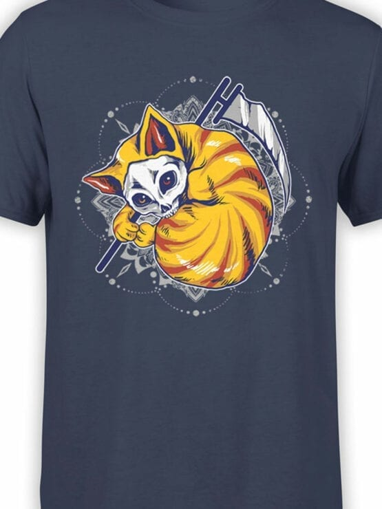 0860 Cat Shirts Dead Front Color