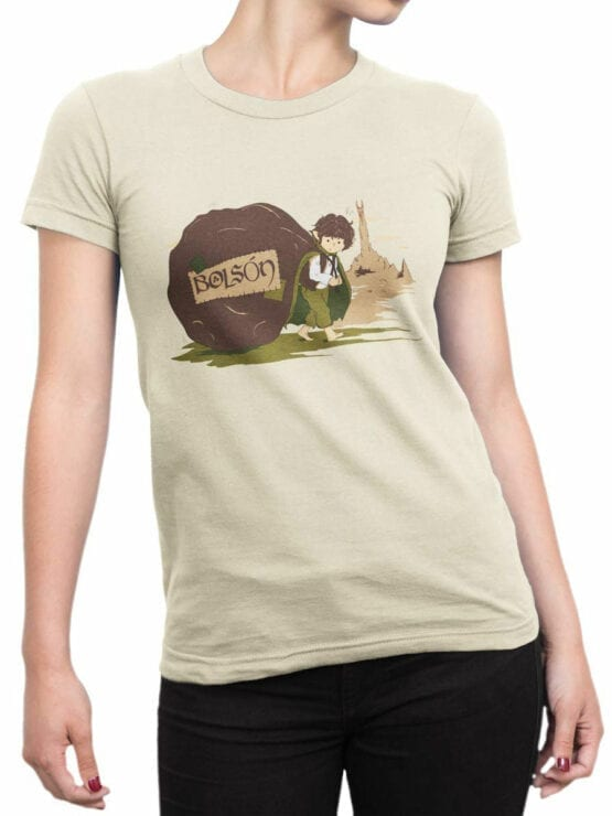 0861 Lord of the Rings Shirt Bolson Front Woman