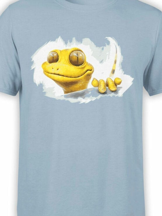 0863 Cool T Shirts Gecko Front Color