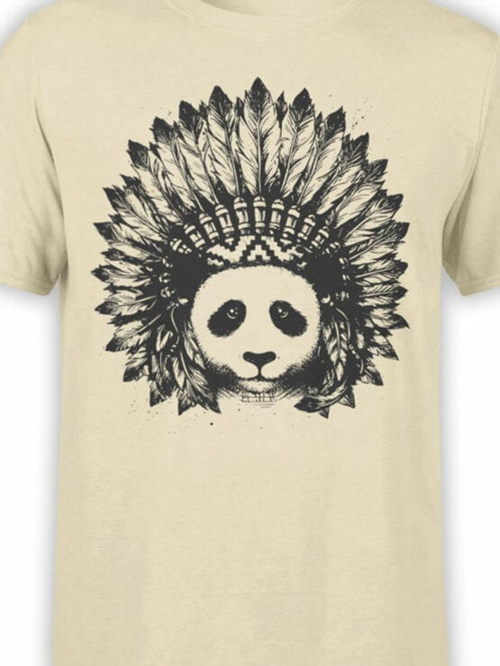 0866 Panda Shirt Indian Front Color