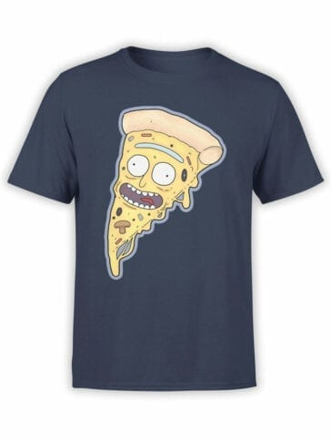 0869 Pizza Shirt PizzaRick Front
