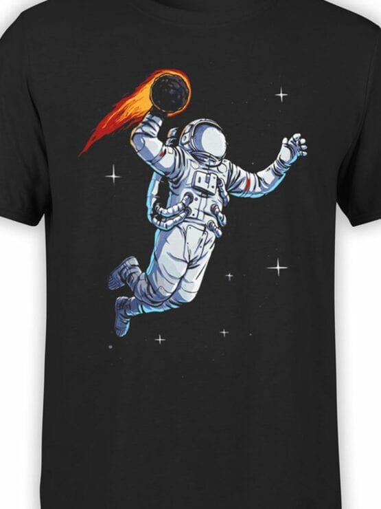 0887 NASA Shirt Spaceball Front Color