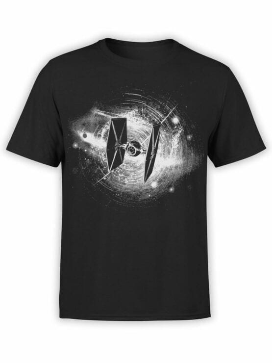 0897 Star Wars T Shirt Fighter Front