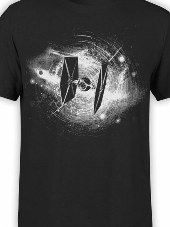 0897 Star Wars T Shirt Fighter Front Color