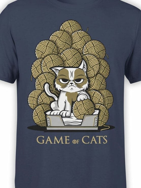 0902 Game of Thrones Shirt Game of Cats Front Color