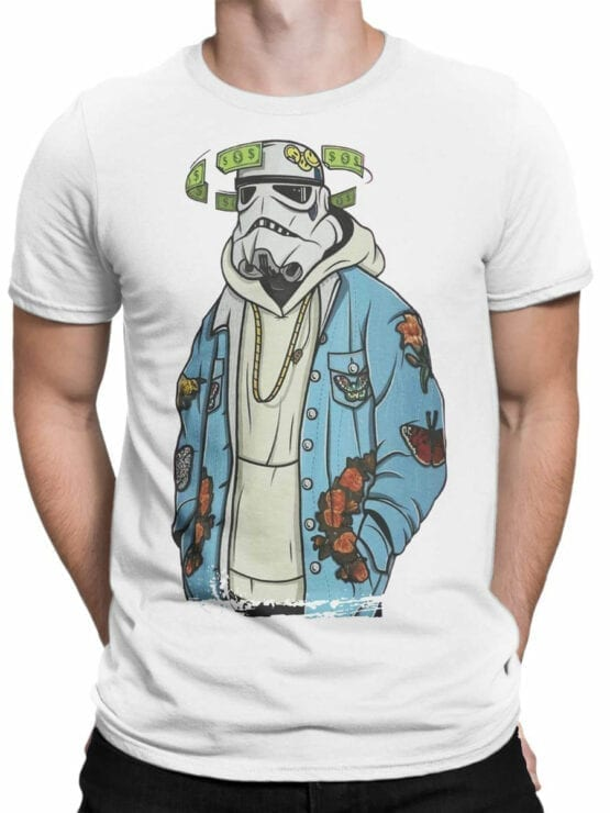 0906 Star Wars Shirt Cool Clone Front Man