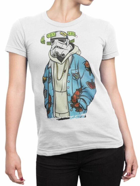 0906 Star Wars Shirt Cool Clone Front Woman