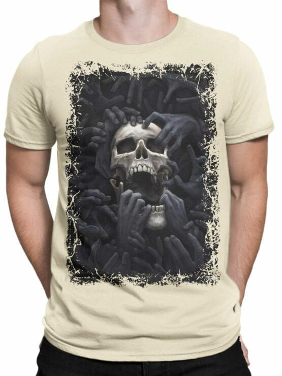 0907 Horror Shirt Hell Front Man