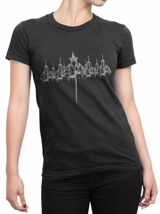 0915 Lord of the Rings Shirt Nazgul Front Woman