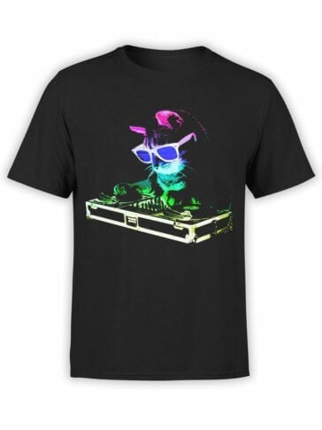 0919 Cat Shirt DJ Catto Front