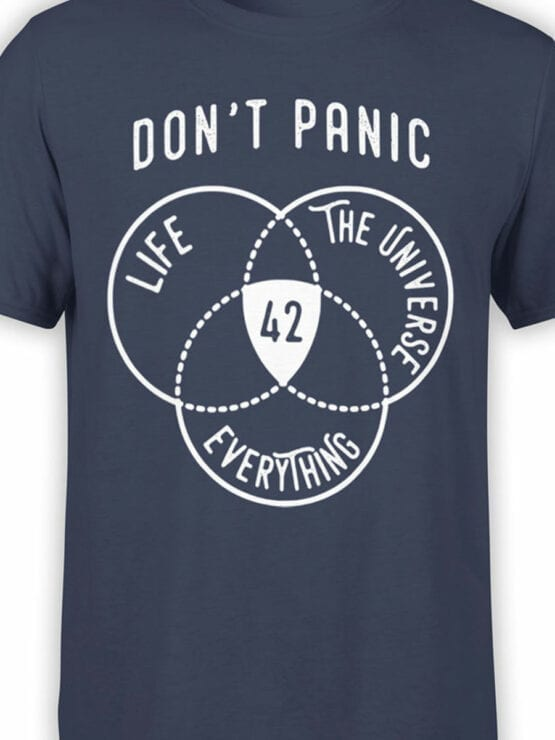 0930 The Hitchhikers Guide to the Galaxy Dont Panic Front Color