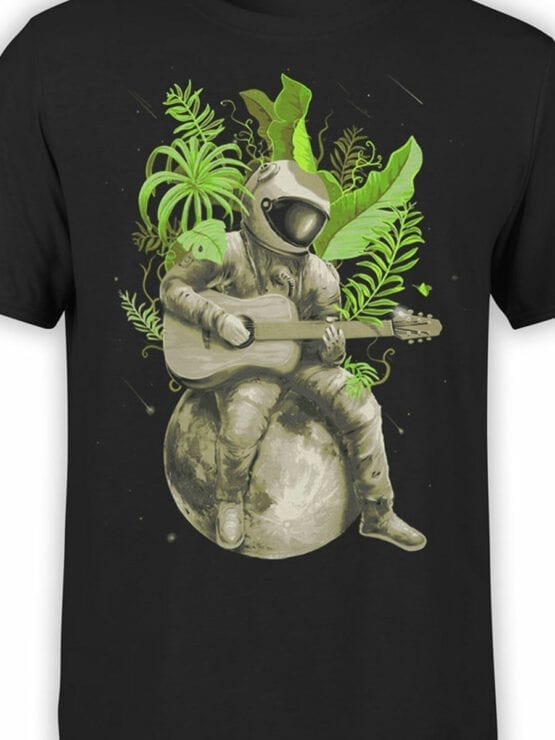 0931 NASA T Shirt Music of the Space Front Color