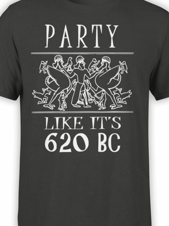 0933 Funny T shirt Party 620 BC Front Color