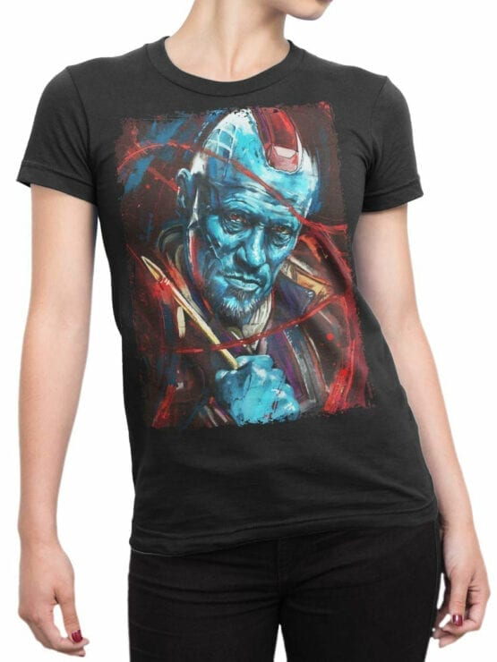 0936 Guardians of the Galaxy Shirt Yondu Udonta Front Woman