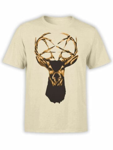 0939 Cool Shirt Deer Front
