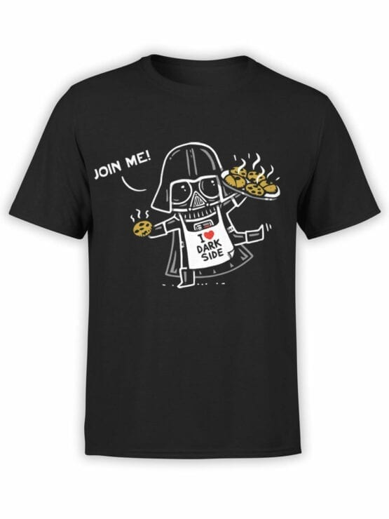 0945 Star Wars T Shirt Join Me Front
