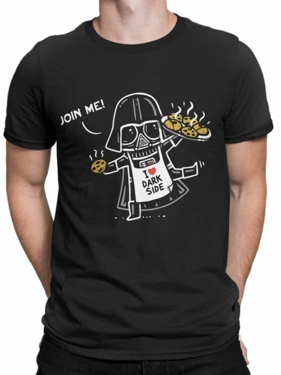 0945 Star Wars T Shirt Join Me Front Man