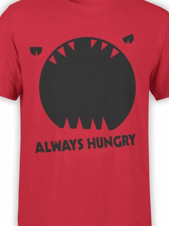 0949 Funny T Shirt Always Hungry Front Color