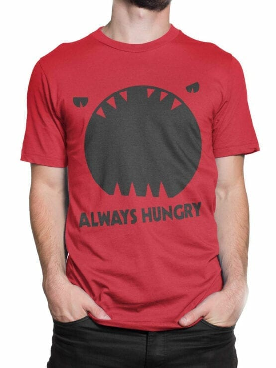 0949 Funny T Shirt Always Hungry Front Man 2