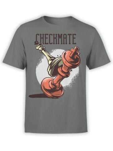 0952 Cool T Shirt Checkmate Front
