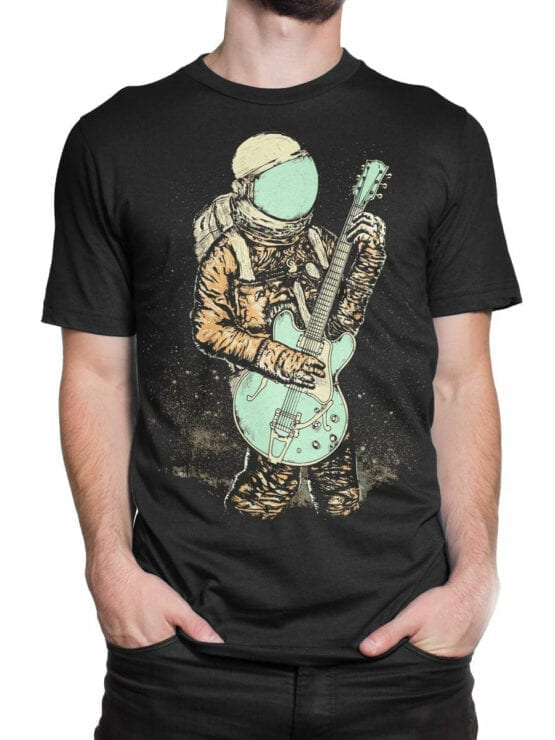 0956 NASA Shirt Guitar Front Man 2