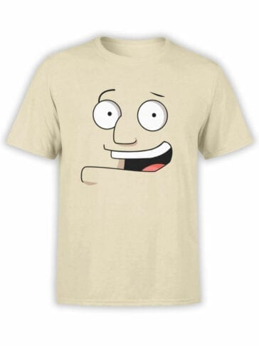 0975 American Dad T Shirt Stan Smith Face Front