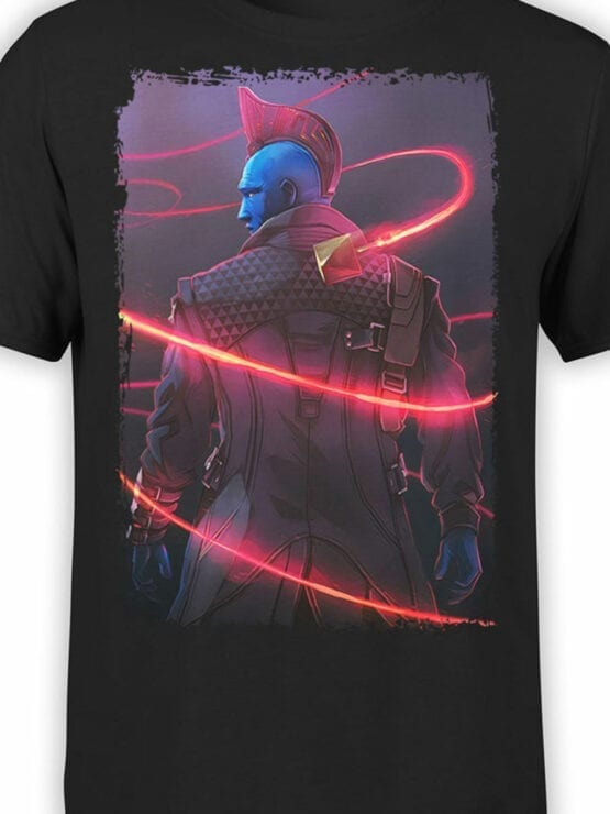 0976 Guardians of the Galaxy T Shirts Yondu Udonta Front Color