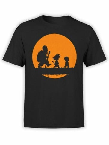 1050 Dragon Ball T Shirt Way Front