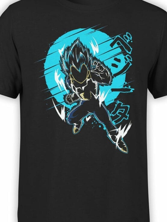 1060 Dragon Ball T Shirt Attack Front Color