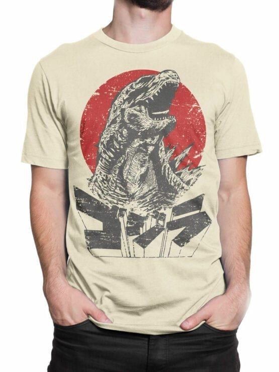 1084 Godzilla T Shirt Monster Front Man 2