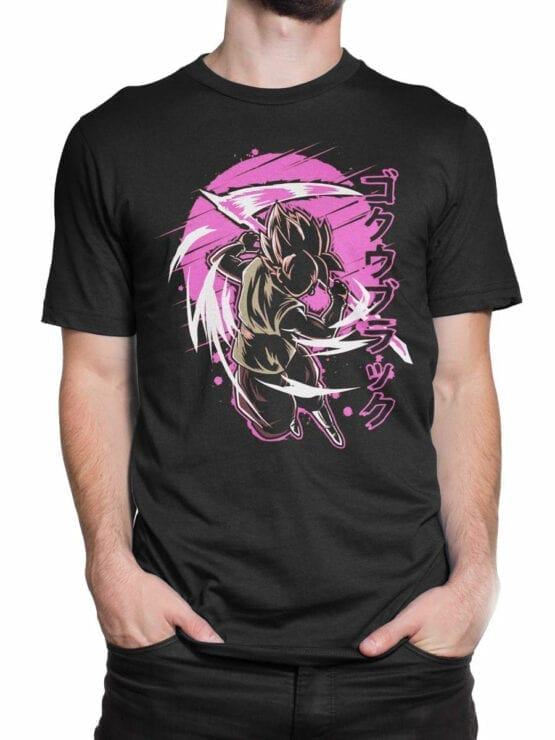1090 Dragon Ball T Shirt Battle Front Man 2