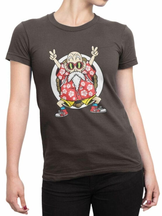 1090 Dragon Ball T Shirt Hey Front Woman