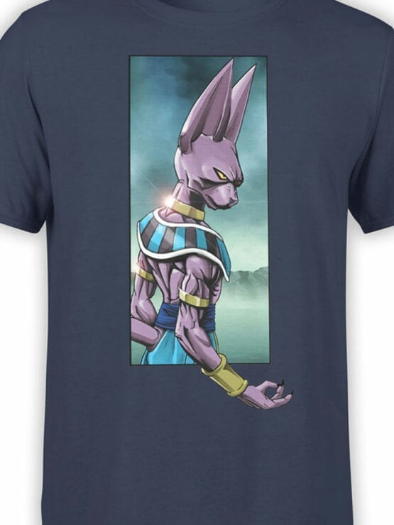 1100 Dragon Ball T Shirt Sight Front Color