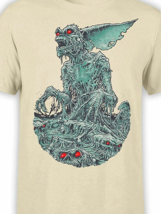 1104 Gremlins T Shirt Monster Front Color